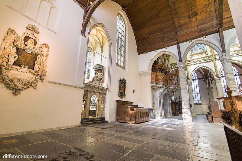Old Church of Amsterdam, organ