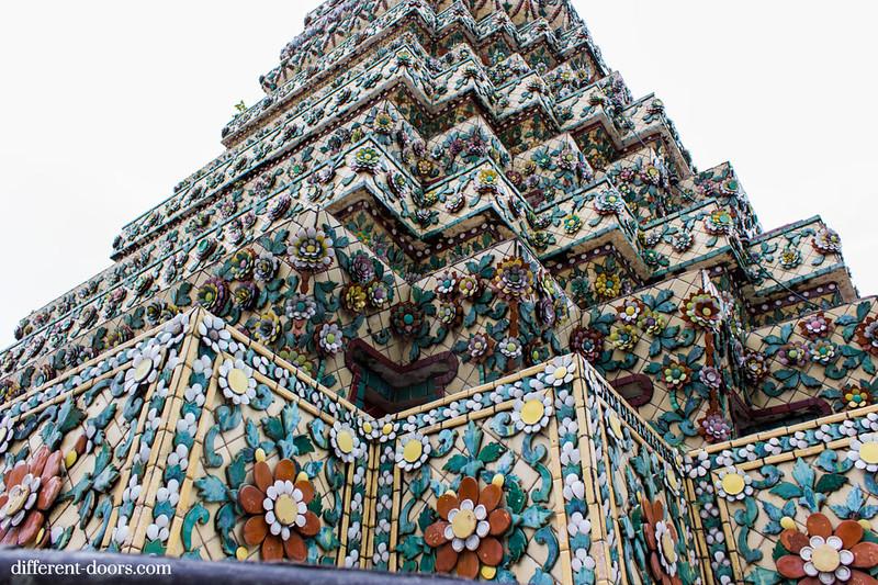 temple of the reclining Buddha, Wat Pho, Bangkok, Thailand