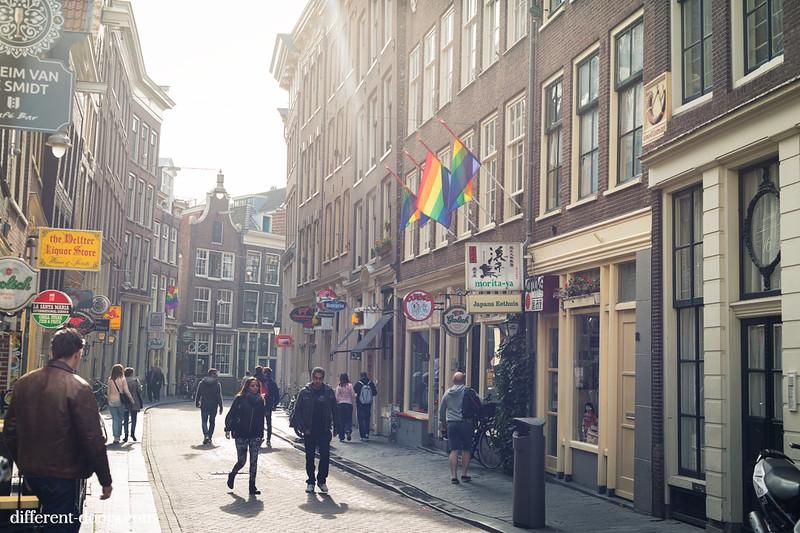 Amsterdam, walking, streets, Chinatown