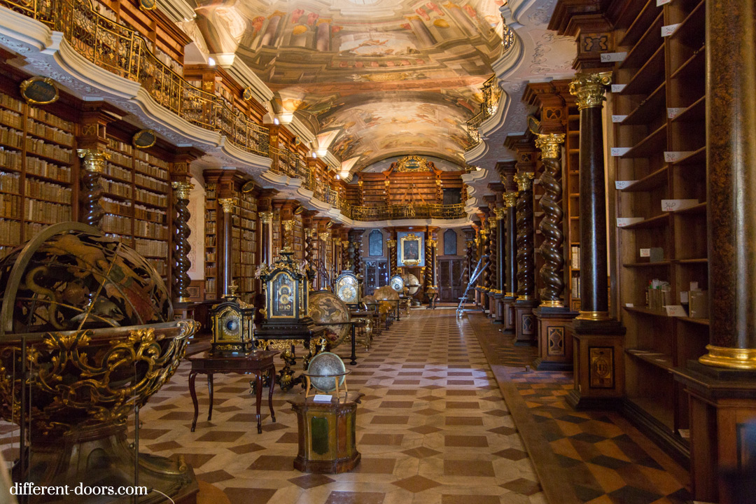 Context Travel Prague, Klementinum, Baroque library, best library