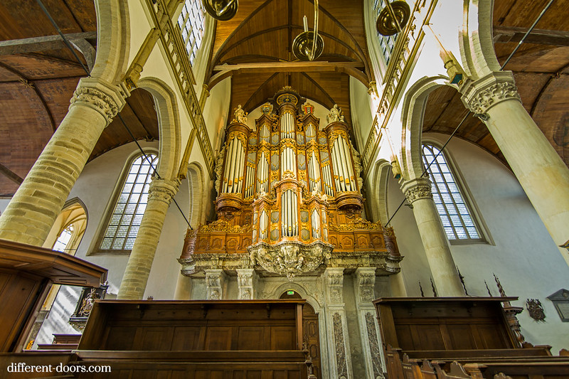 Old Church of Amsterdam, organ, baroque, acoustics